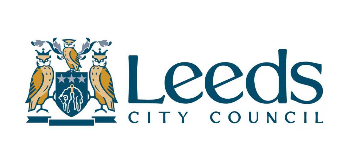 The logo of Leeds Council a CoSpace North sponsor