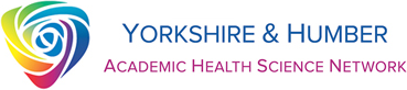 The logo of the Yorkshire and Humber Academic Health Science Network a sponsor of CoSpace North